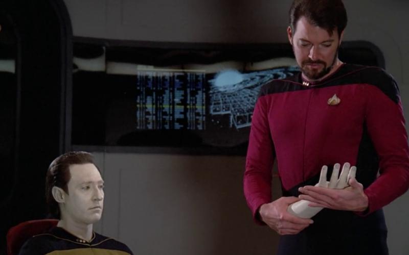 Measure of a Man tem uma das cenas mais memoráveis de Star Trek (Foto: Reprodução)