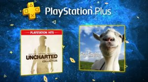 PS Plus de janeiro terá Uncharted Collection e Goat Simulator