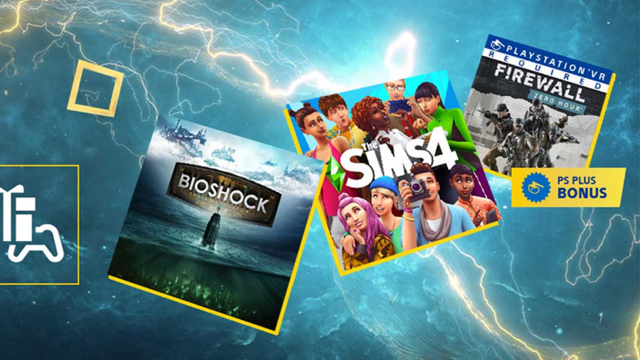 PS Plus de fevereiro terá Bioshock e The Sims 4