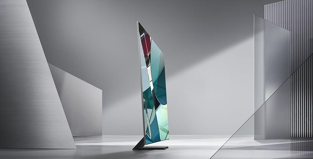 TV 8K da Samsung teria apenas 15mm de espessura (Reprodução: Samsung)