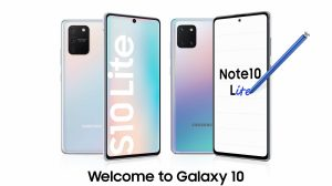 imagem destacada do Samsung Galaxy Note 10 Lite e S10 Lite