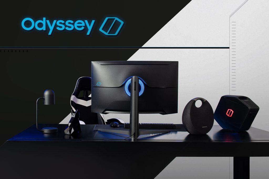 Samsung Odyssey G9 estará disponível em dois tamanhos: 27 e 32 polegadas. O modelo tem resolução  2560 × 1440 e formato 16: 9 e display QLED da Samsung