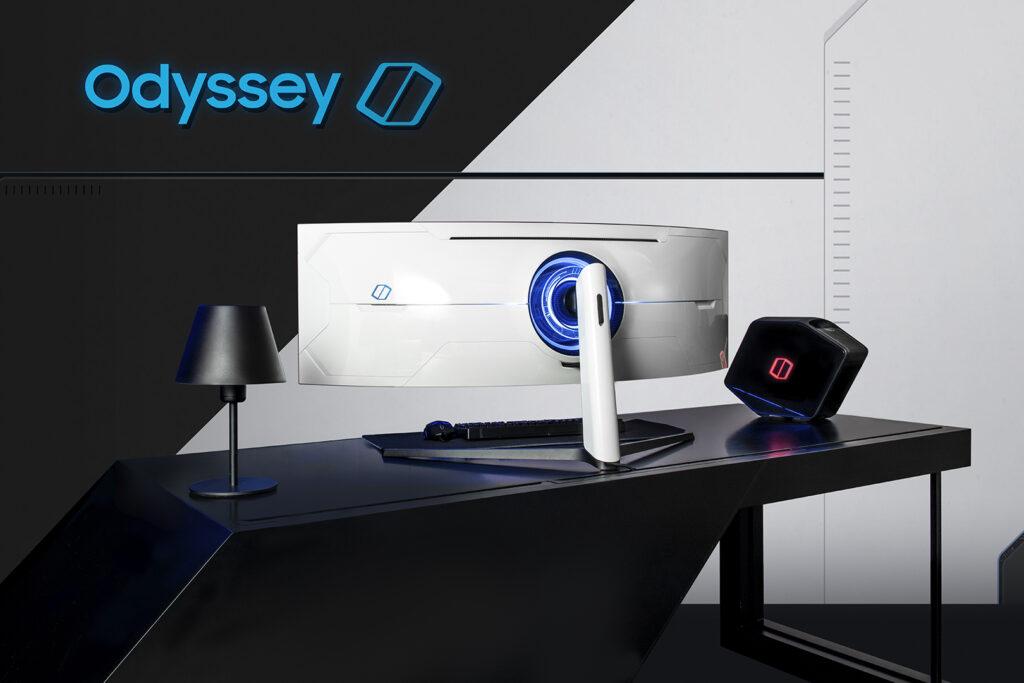 Novo monitor Odyssey G9 apresentado na CES 2020