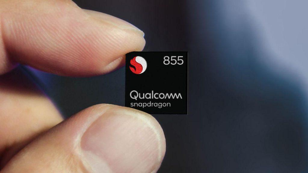 Chipset topo de linha snapdragon 855