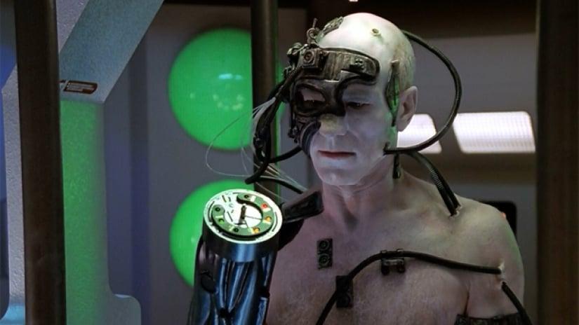 The Best of Both Worlds é considerado um dos melhores episódios de toda a série Star Trek (Foto: Reprodução)