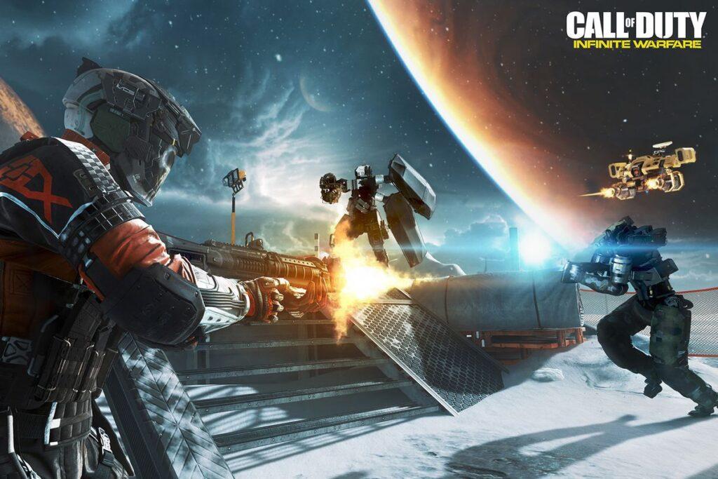 Call of Duty Infinite Warfare foi bem sucedido comercialmente, mas assim como outros da lista foi criticado pela falta de inovação (Foto: Reprodução)