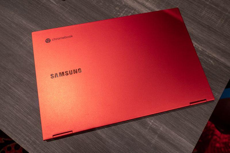 Samsung Galaxy Chromebook é o chromebook mais poderoso já feito.