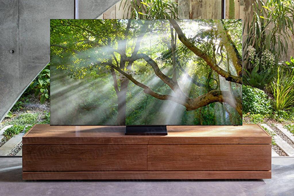 TV 8K da Samsung terá design completamente infinito, ou seja, sem bordas (Reprodução: Samsung)