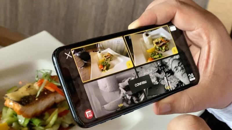 Nos novos iPhones 11 é possível usar o recurso de gravações múltiplas com ambas as câmeras traseiras