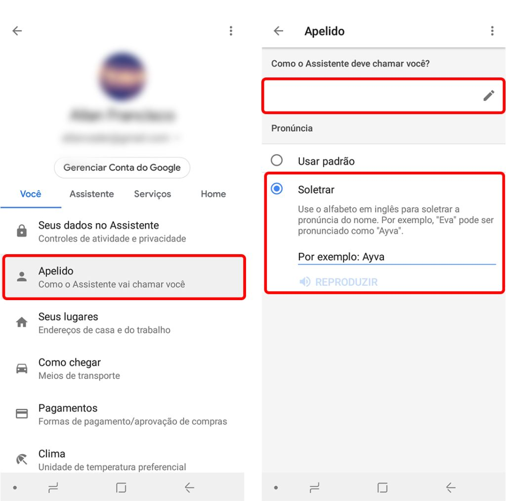 google assistente tutorial