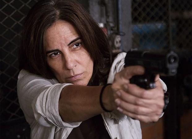 Glória Pires em uma das cenas de A Suspeita; o filme estreia em março