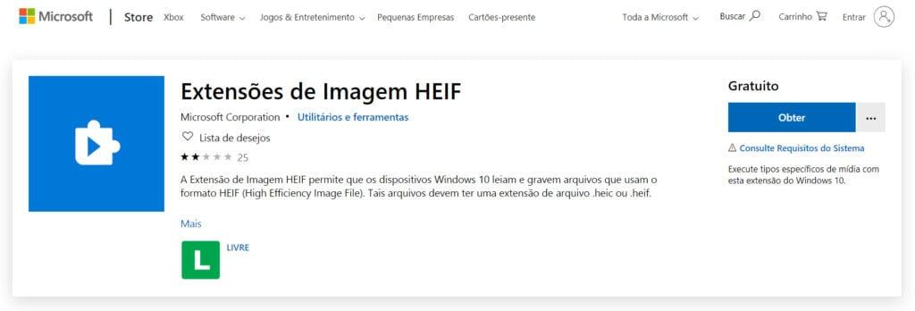 HEVC é a tecnologia que permite o arquivos visuais de ocuparem menos espaço no dispositivo