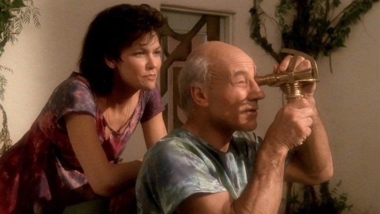 De todos da lista, o Inner Light é o único que não tem absolutamente nenhuma conexão (aparentemente) com Star Trek Picard. No entanto, ele entra por ser um excelente episódio da série (Foto: Reprodução)