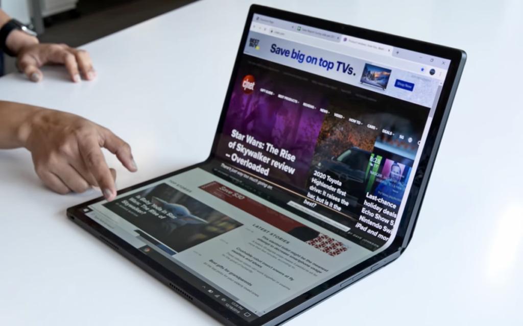 A Intel surpreendeu ao apresentar o Horseshoe Bend, seu conceito de notebook dobrável com chipset Tiger Lake