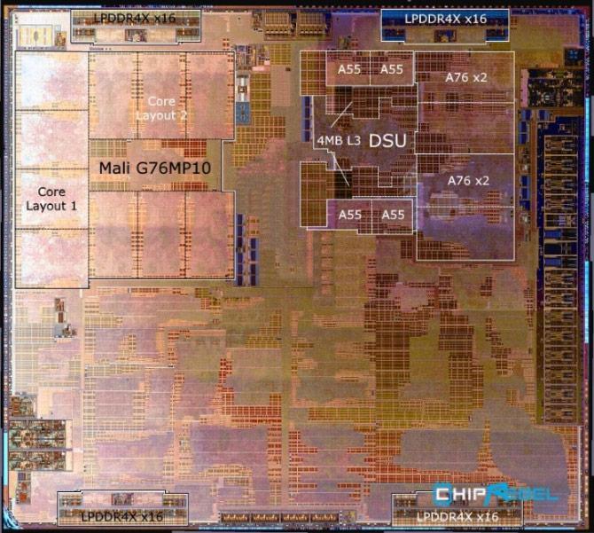 Kirin 980 - Processador - SOC - Microscópio
