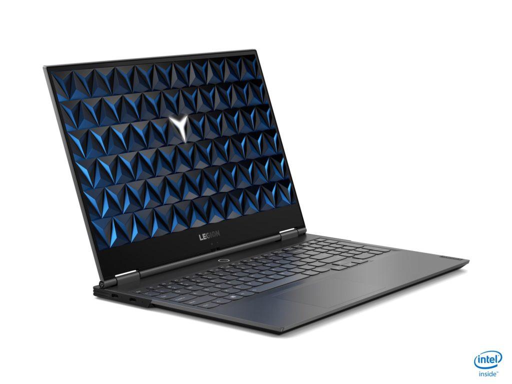 Novo notebook gamer Lenovo Legion Y740S roda com o Windows 10