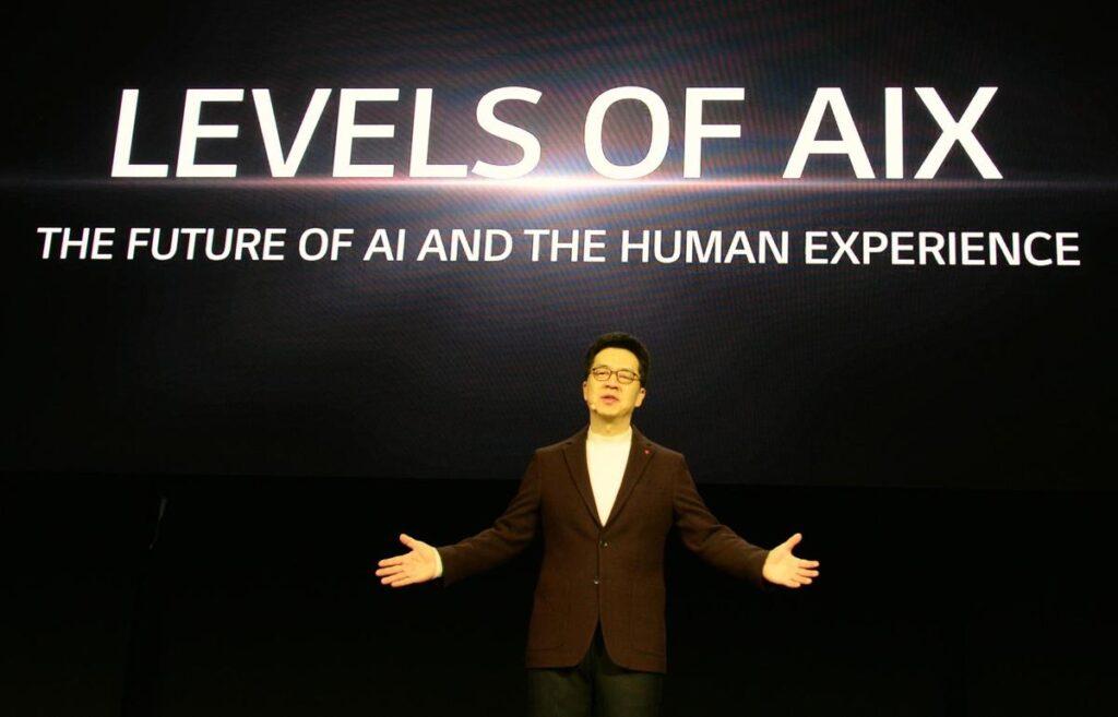 Grande parte da apresentação da LG na CES 2020 foi focada em IA.