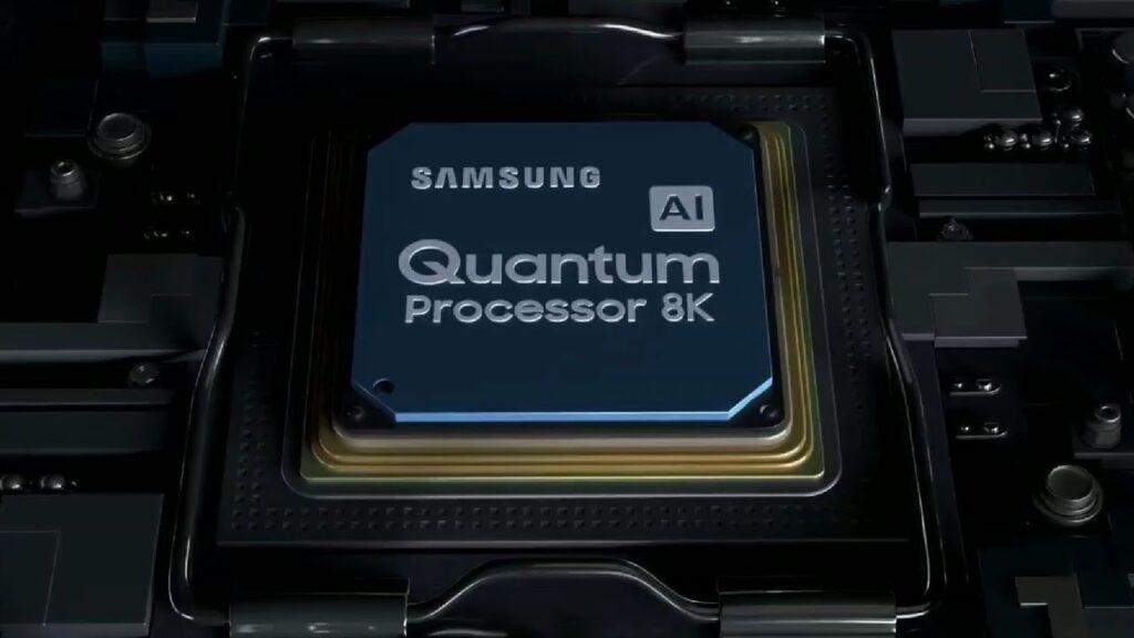Novo processador quântico usará ia para melhorar conteúdos 8k e som da tv (reprodução: samsung)