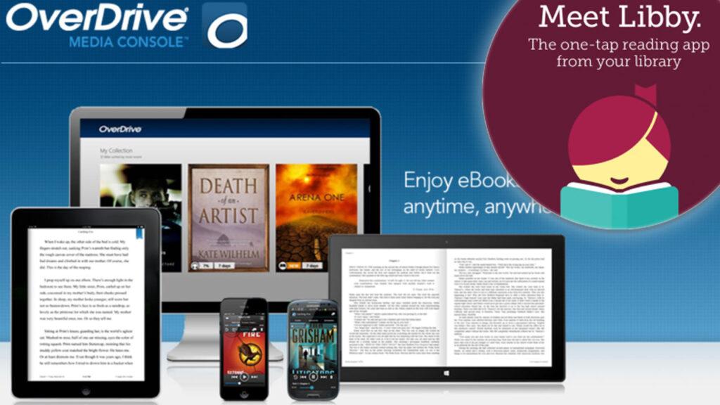 O Overdrive possui dois apps dedicados, o Libby e o Sora, para que você possa ouvir seus audiobooks onde quiser