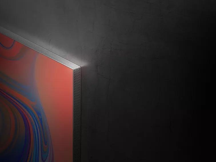 TV terá apenas 15mm de espessura, segundo a Samsung (Reprodução: Samsung)