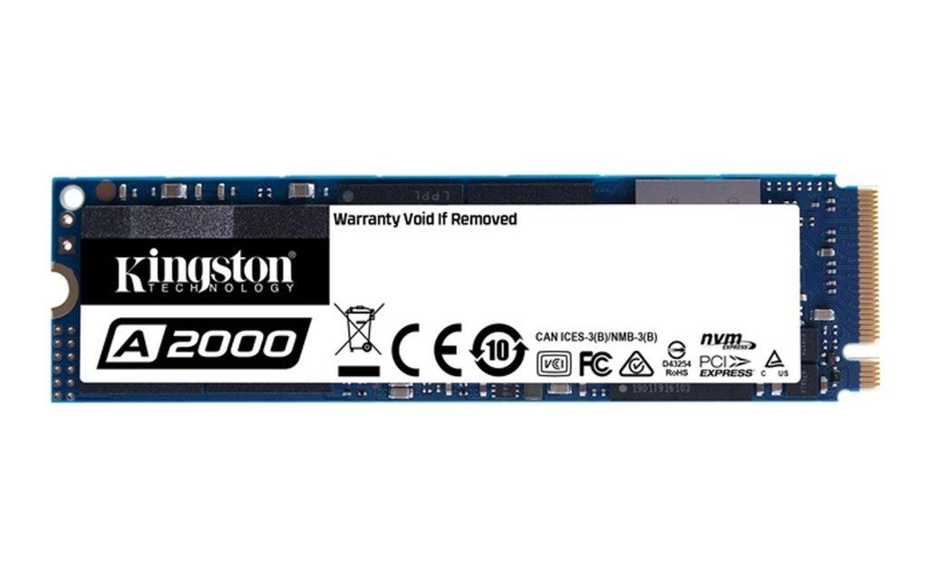 Ssd kingston a2000 1tb (reprodução: kingston)