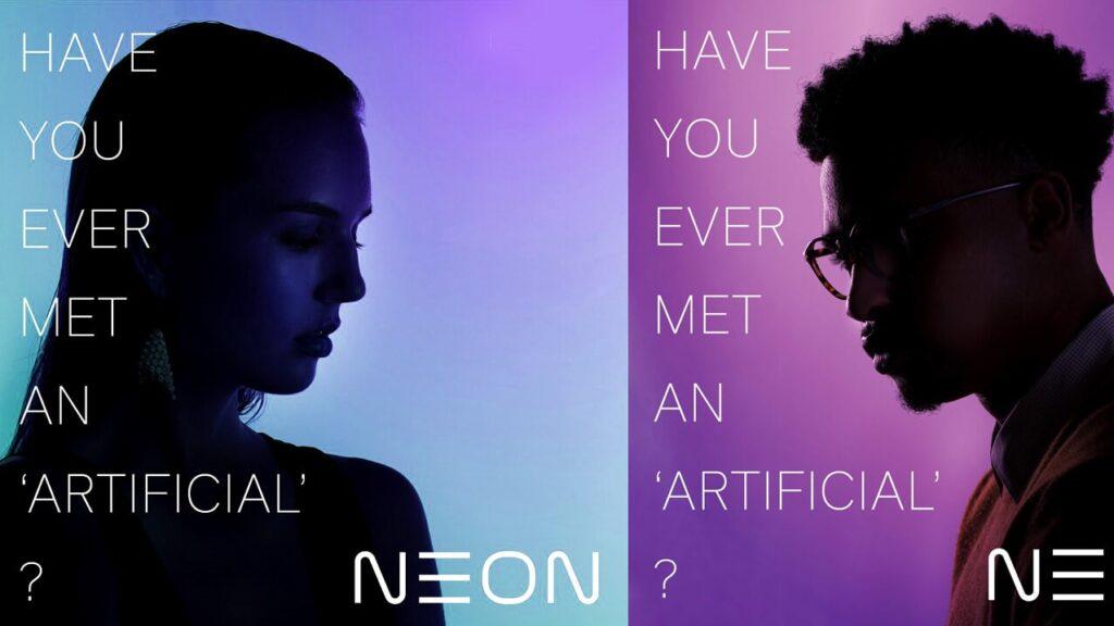 Samsung neon é um avatar digital com aparência e emoções de humanos