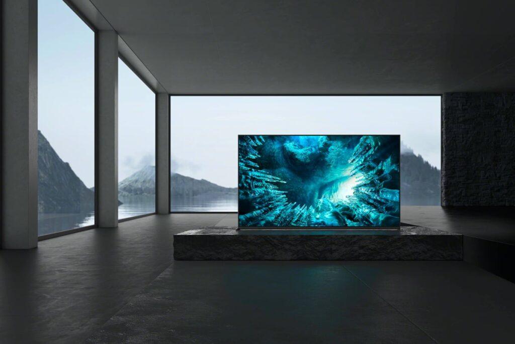 Smart tvs z8h da sony (divulgação)