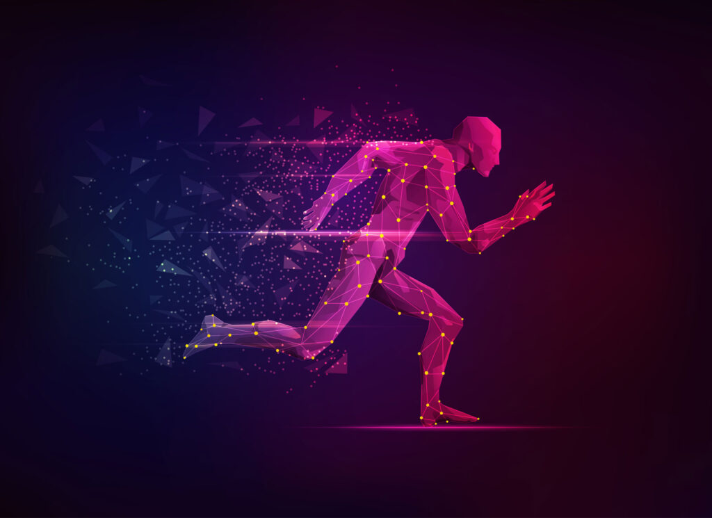 Solução de inteligência artificial da Intel para os Jogos Olímpicos de Tóquio faz um escaneamento em 3D dos atletas para gerar dados.