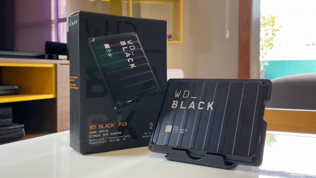 Caixa do WD Black P10