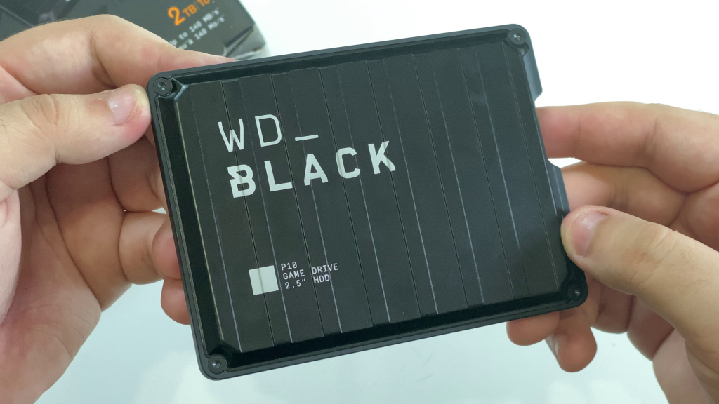 Design do WD Black P10