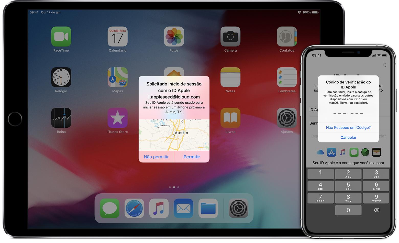 11 autenticação dois fatores iphone ipad
