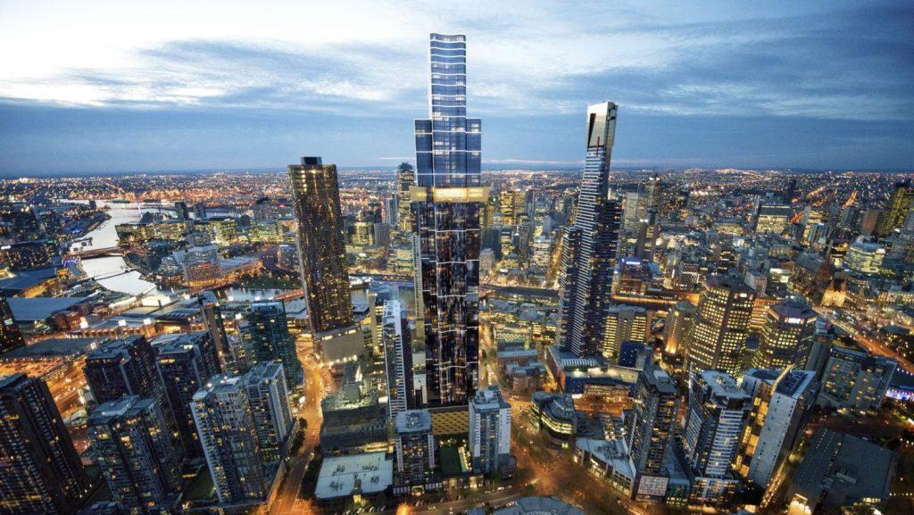 Projeto futurista de 2020: austrália 108