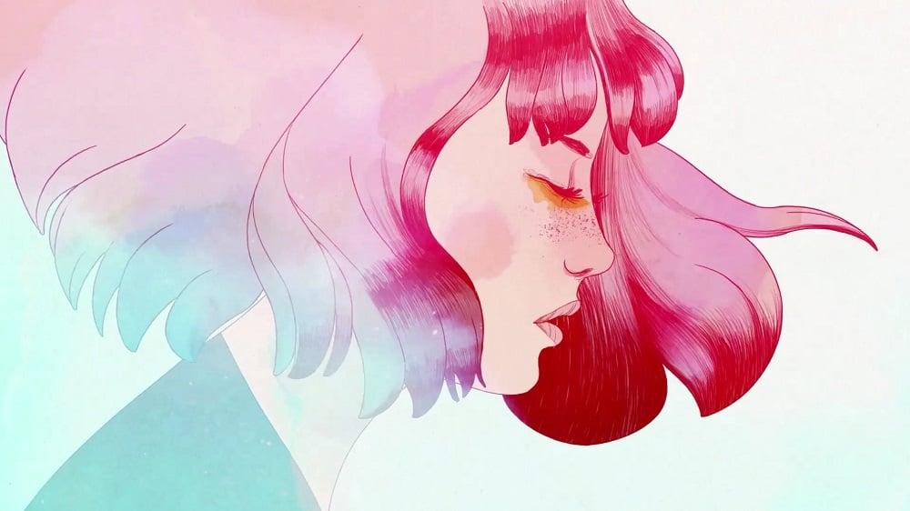 Em Gris, enquanto você percorre um mundo acinzentado precisa devolver as cores para ele