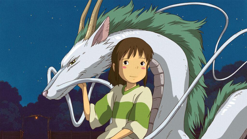Chiriro com seu dragão