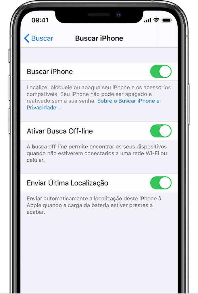 App find my está disponível para iphone, ipad e mac.