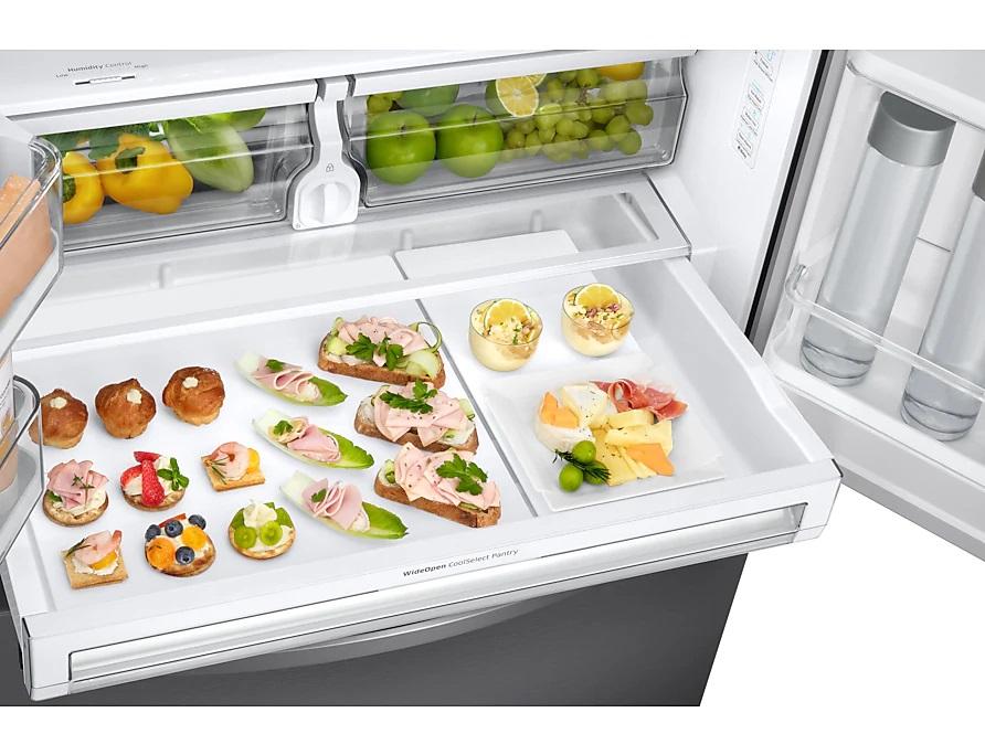 Os refrigeradores inteligentes podem ser controlados através do smartphone. Os refrigeradores inteligentes podem ser controlados através do smartphone. (Foto: Divulgação)