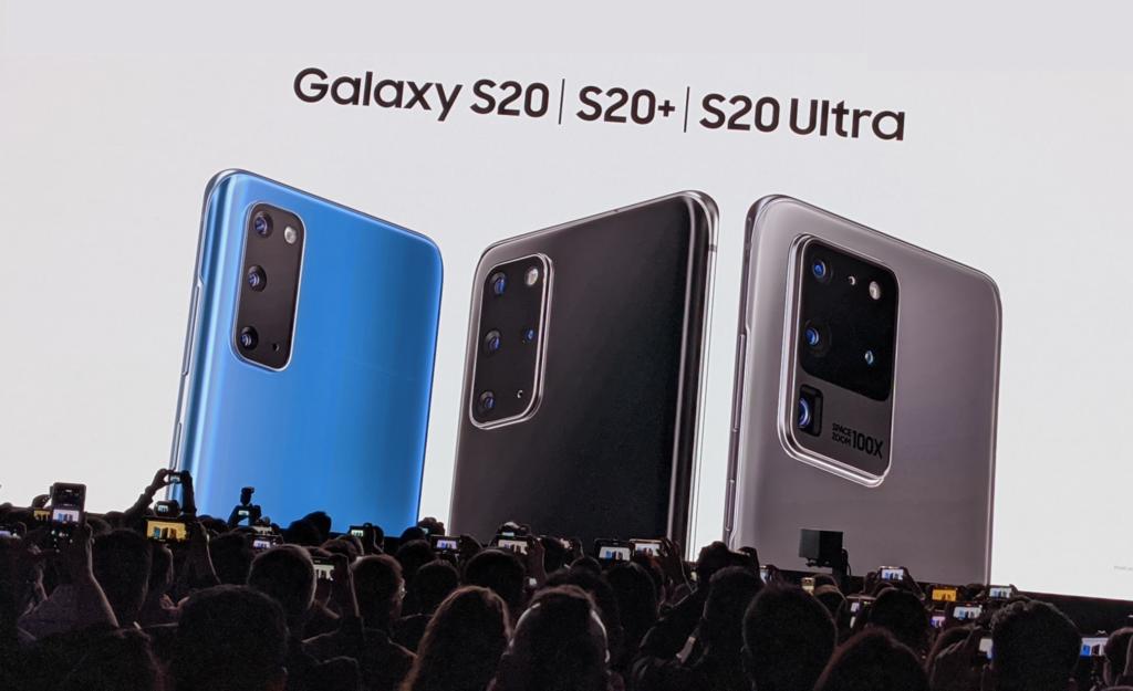 Galaxy s20 s20 e s20 ultra são oficializados pela samsung