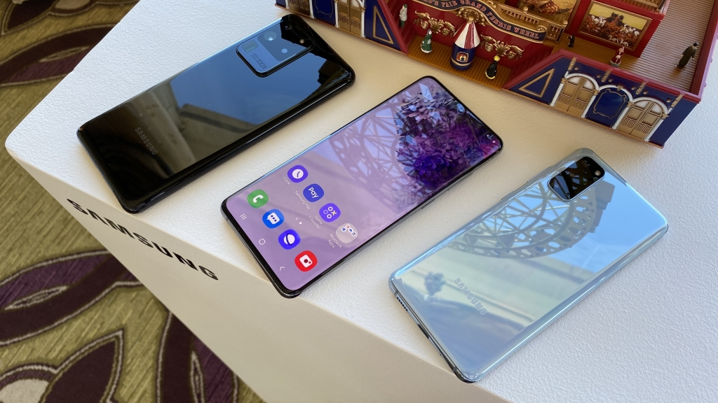 """Os smartphones Galaxy S20 """"quebram"""" a numeração tradicional para representar a nova década."""