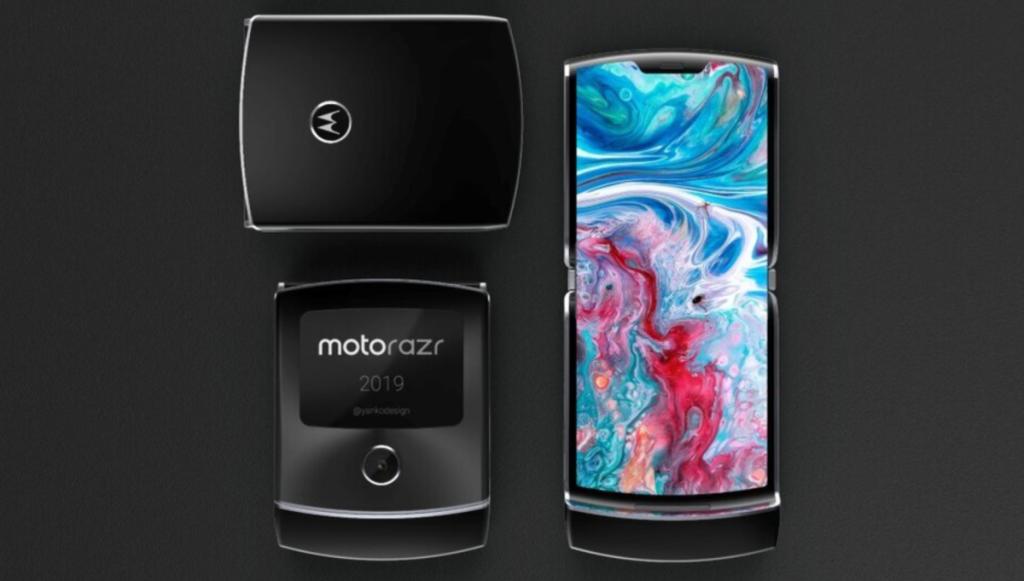 Motorola razr 2019 tem um tamanho bastante compacto, ideal para bolsos pequenos (foto: divulgação)