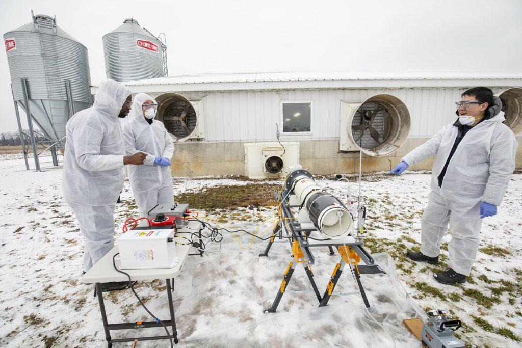 Para ser utilizado comercialmente o reator de plasma não-termal, ainda é necessário alguns estudos (Foto: Robert Coelius / Michigan Engineering)
