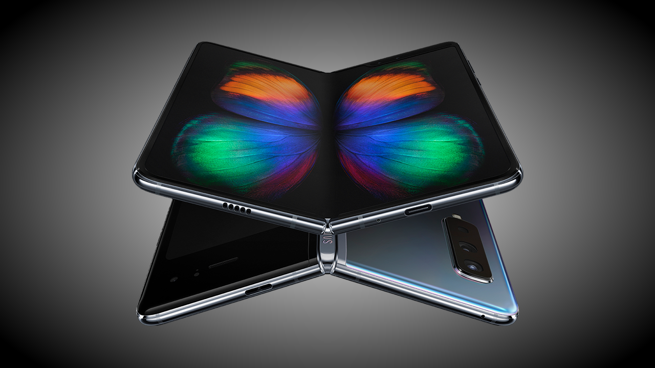 Samsung galaxy fold official graphic