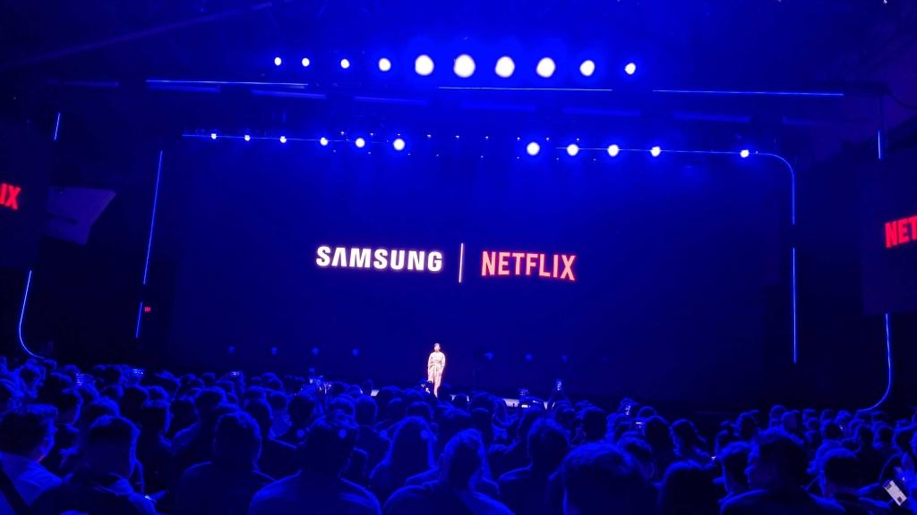 A Samsung anunciou parceria com diversas empresas líderes em seus segmentos, incluindo Netflix.