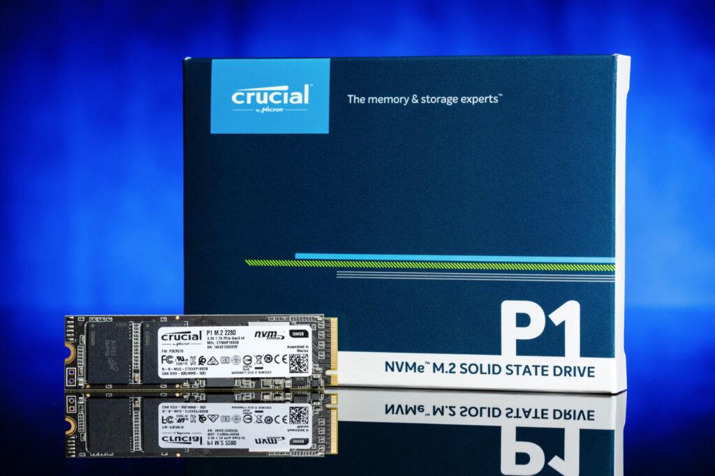 Se você não é um usuário exigente, o preço do SSD Crucial P1 pode te agradar
