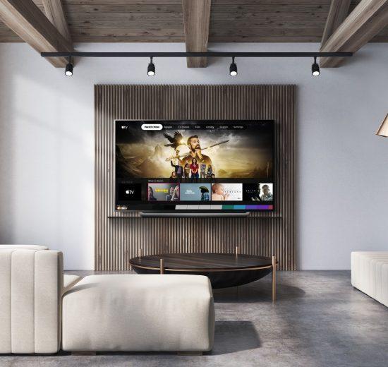 A Apple TV chega aos televisores da LG (Foto: Divulgação)
