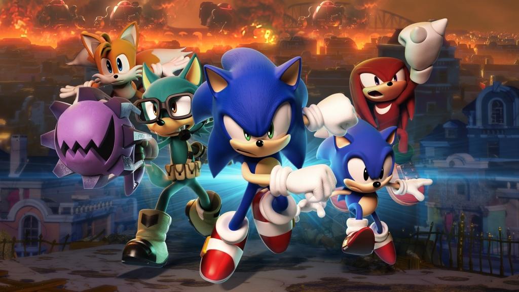 Junte-se a Sonic e seus amigos nessa incrível aventura alucinante