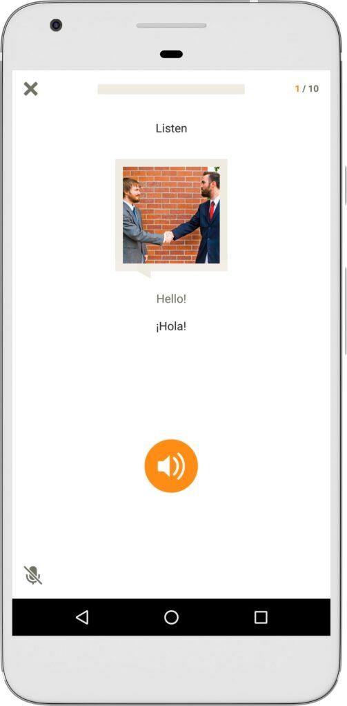 Babbel app idioma