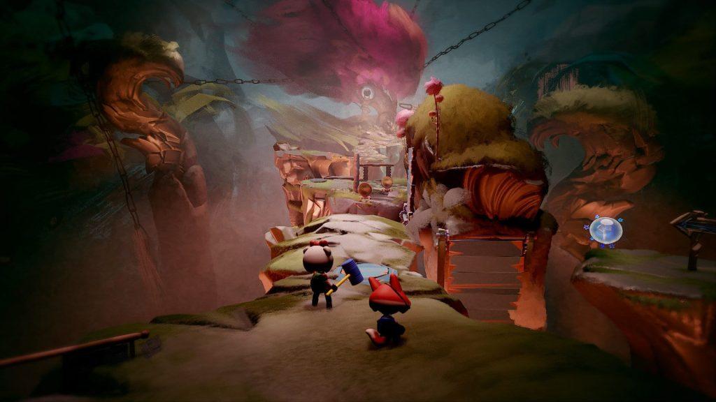 Assim como na série Little Big Planet, Dreams oferece várias ferramentas para o jogador soltar sua criatividade