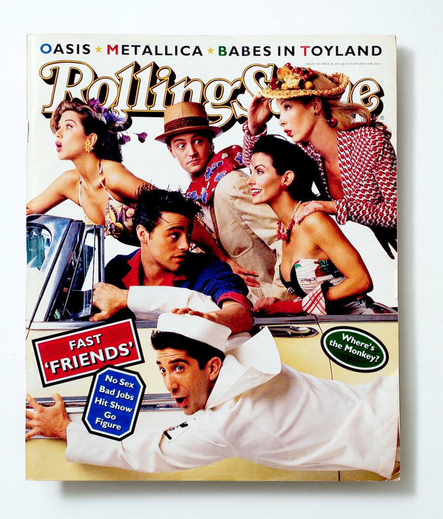 Friends Rolling Stone