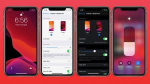 how to use dark mode iphone ios 13 lead