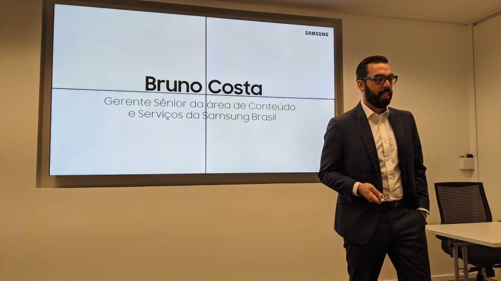 Bruno Costa, gerente senior de conteúdos e serviços para a área de dispositivos móveis da Samsung Brasil